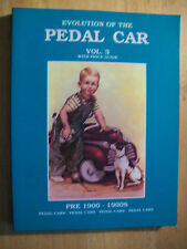 VINTAGE PEDAL CARS PRICE GUIDE COLLECTORS BOOK RIDING TOYS 1900 1990's RARE BOOK