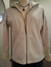 NWOT GREAT PARASUCO TAN ZIP-UP TRACK SHIRT/JACKET SIZE XL, FITS SIZE 7-8 TO 9-10