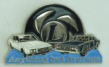 LEYLAND P76   LAPEL PIN BADGE DOUBLED PINNED.        F020701