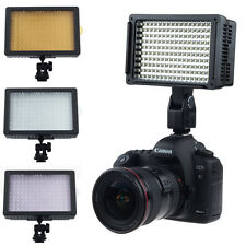 160 LED Video Light Hot Shoe Lamp Photo Studio Lighting for Canon Nikon Camera