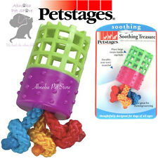 Petstages Soothing Treat Treasure Calm Concentration Active Dogs Rope Puppy Toys
