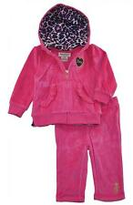 Juicy Couture Infant Girls Fuchsia 2pc Velour Pant Set Size 6/9M