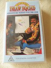 Captain Mark's Draw Squad Volume 1 - PAL VHS Video - 1989 - Rare