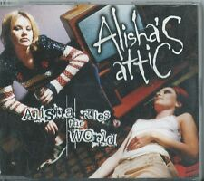 ALISHA'S ATTIC - Alisha Rules The World (UK CD Single)
