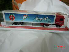 Majorette Red Coca Cola ARTICULATED LORRY  Truck Die-cast Model   New in BUBBLE