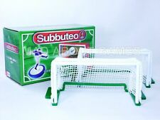 Subbuteo DELUXE GOALS Green Base New Table Soccer Football Paul Lamond Porte Toy