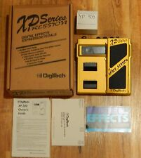 Vintage Digitech XP300 Space Station Guitar Pedal Rare Working - Original Box