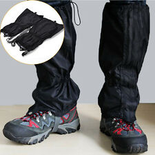 Waterproof Climbing Hiking Snow Ski Shoe Leg Cover Boot Legging Gaiters zp