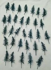 Vintage New lot of 32 Christmas Trees Cupcake Picks/ Cake Toppers