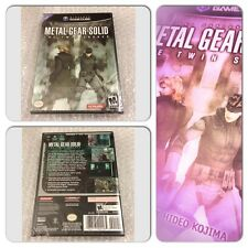 Metal gear solid: the twin snakes (scellé) - Nintendo GameCube-ntsc U/c