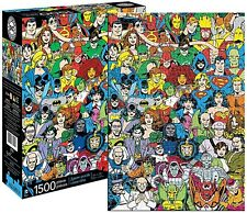 DC Comics Characters 1500 piece jigsaw puzzle 830mm x 570mm   (nm)