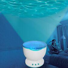 Ola oceánica Luz de Proyector-Azul claro
