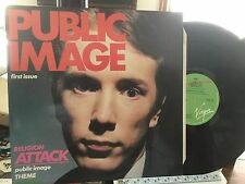 PUBLIC IMAGE LP FIRST ISSUE 1978 UK PRESS VIRGIN OVED 160 MINT Sex Pistols