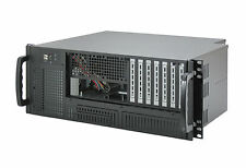 "19"" Server Gehäuse 4HE / 4U - IPC-E420 - Frontaccess / ultrakurz: 35,5cm tief"