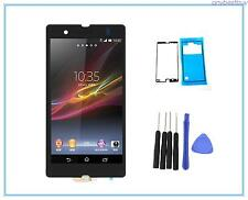 Black LCD Screen Touch Digitizer Assembly For Sony Xperia Z L36h C6602 C6603