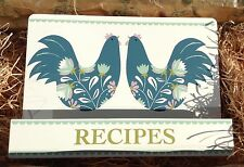 Chicken French Hen Cottage Kitchen Recipe Cook Book Holder by Gisela Graham