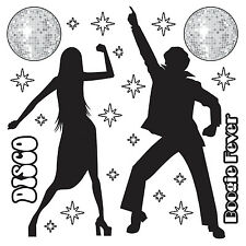 Disco Prop - 1970's Wall Decoration - 70s Party Decorations - Disco Dancers