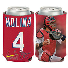 St. Louis Cardinals Can Cooler 12 oz. Yadier Molina MLB Koozie