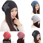 Unisex Women Cotton Winter Warm Ski Slouch Hat Cap Beanie Hat Ladies Baggy Cap