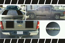Z71 2007-2008-2009 Chevy Silverado Hood Tail Stripe Decals  Rally 2 Styles 2500