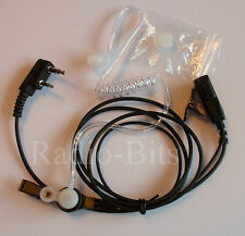 Kenwood Two Pin Acoustic Tube Earpiece Microphone TK3101 TK-3302 TK-3202 Protalk