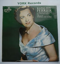 KATHLEEN FERRIER - A Broadcast Of English Songs & Arias - Ex LP Record Ace Clubs