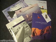 CONCORDE BUNDLE 1st EDITION COPY CONCORDE TRIBUTE CAPT L.SCOTT WROTE FORWARD