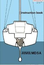 VOLVO  Marine Engine PENTA MD5A Workshop Manual