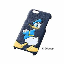 iPhone6 (4.7) Case Leather Cover Disney Donald Duck RT-DP7C / DD from Japan F/S