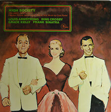 """OST - HIGH SOCIETY - LOUIS ARMSTRONG - COLE PORTER  12""""  LP (Q946)"""