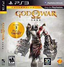 GOD OF WAR SAGA GOW 1 2 & 3 III PS3 Game (PREOWNED) (USED) Excellent Condition
