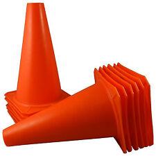 """12X 9"""" inch Orange Cones Sport Agility Traffic Field Soccer Football Training OU"""