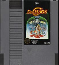 DR CHAOS ORIGINAL CLASSIC NINTENDO GAME SYSTEM NES