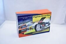 A28  FLY CAR MODELS 1/32 SLOT CARS MARCOS LM 600 PAGINAS AMARILLAS GT 2001