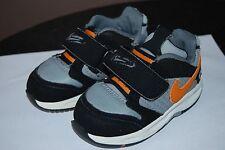 Nike Baby Boys Athletic Shoes - Size 5 C - Gray, Black, Orange