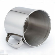 Stainless Steel Coffee Tea Mug Cup-Camping/Travel 3.5  LS