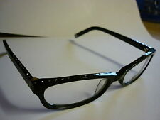 Karl Lagerfeld Glasses Frames Designer Frames KL755 Chunky Black/diamonds re:204
