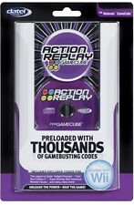 DATEL ACTION REPLAY FOR NINTENDO GAMECUBE CHEAT CODES - NEW AND SEALED