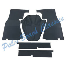 New OEM Vintage Mercedes Benz Complete Front Rubber Mat Set 5 pieces W121 190SL