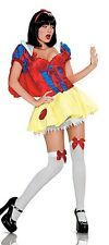 LEG AVENUE 83160 PRINCESS FAIRY TALE DRESS COSTUME-NYLON/POLYESTER RED