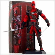 1 Crazy Toys Marvel Legend Wave X-men Deadpool Wade Wilson Statue Action Figures