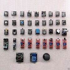 New 1 Set Ultimate 37 in 1 Sensor Modules Kit For Arduino & MCU Education User