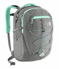 THE NORTH FACE Womens Borealis Backpack Zinc Grey/Surfer Green