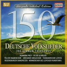 150 German Folksongs - Traditional (2011, CD NIEUW)