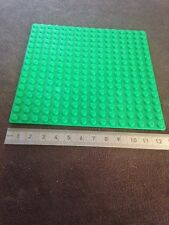 Lego Compatible Base Plate Green 12.5 Cm Square 16 X 16 Grid Building Blocks