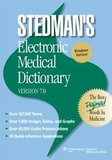 Stedman's Electronic Medical Dictionary Version 7.0 for Windows 2 Discs NEW