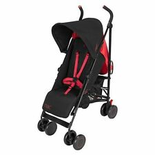 Maclaren Mac M-01 Stroller ~~ Black Red~~ Brand New
