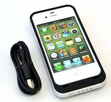 NEW Mophie Juice Pack Air iPhone 4/4S Rechargeable Battery Case BLACK Genuine