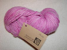 MANOS del URUGUAY  Kettle Dyed Pure Wool Yarn #01- RASPBERRY -138 yds ~ 10 Avl