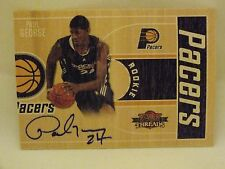 2010-11 THREADS BASKETBALL AUTO ROOKIE PAUL GEORGE #271/399